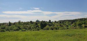 вид на Мошків, Шмитків - тепер село Гута