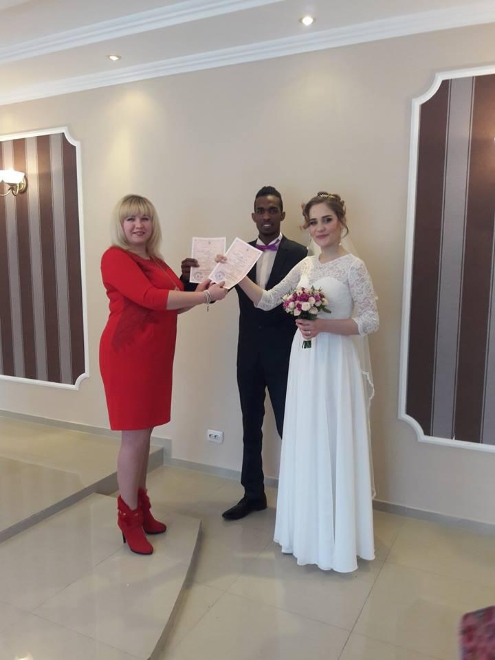 В Червонограді українка вийшла заміж за громадянина Судану