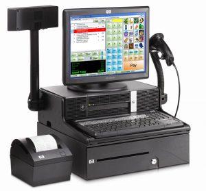 Класична POS-система з РРО та сканером