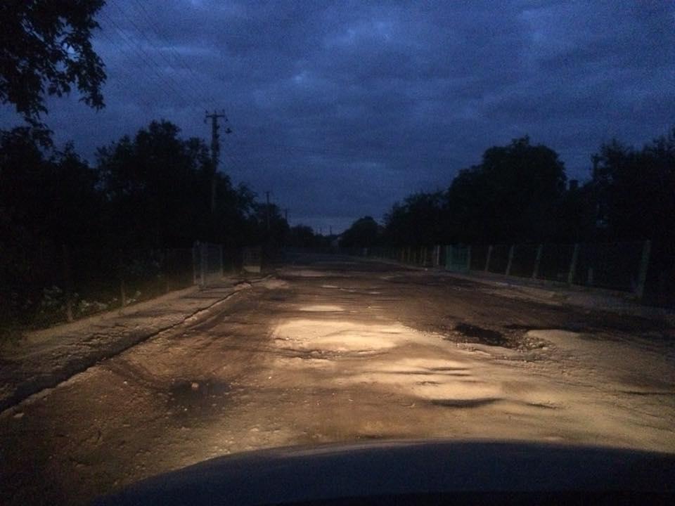 дорога Червоноград-Перетоки в жахливому стані
