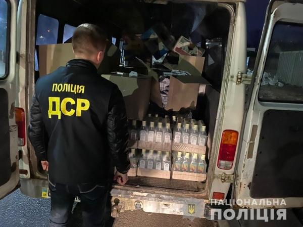 Правоохоронці не допустили реалізаціЇ контрафактних алкоголю й цигарок на Львівщині
