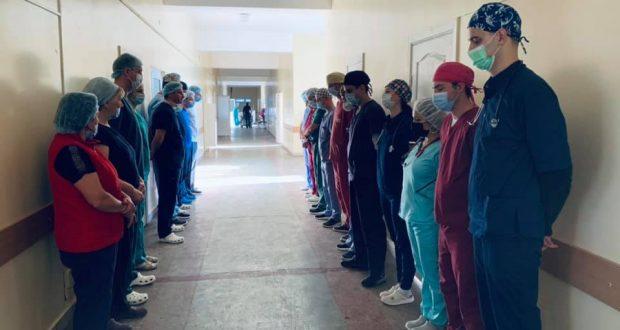 Львівські медики віддали останню шану донорці органів. Світлина - Ірини Заславець