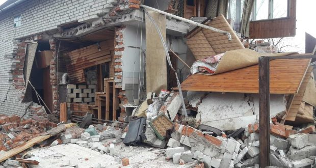 в Добрячині через вибух газу знищено житловий будинок