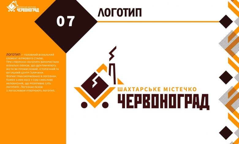 брендбук та айдентика міста Червоноград