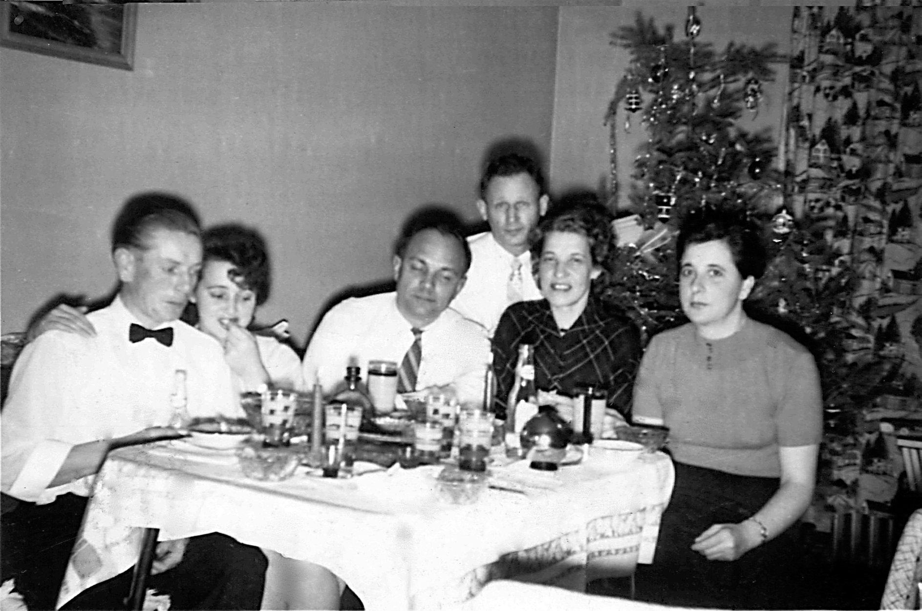Різдво на чужині, 1957 р.