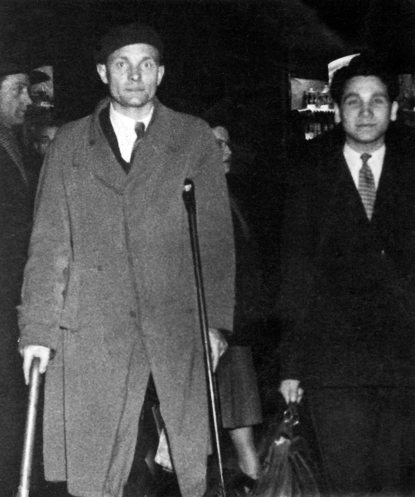В Бельгії 1947-48 р.р., як працівник УДК.