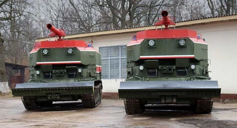 """Пожежні танки ГПМ-54 відновлені та модернізовані на ДП """"ЛБТЗ"""""""