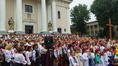 зведений хор у Сокалі, світлина - Ольга Денисюк