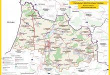 мапа нового адміністративно-територіального устрою Сокальської громади