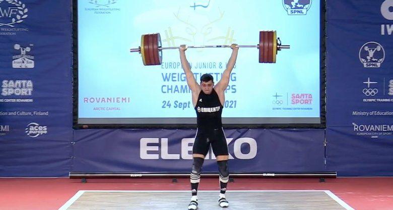 важкоатлет з Жидачева Богдан Гоза виборов золото на чемпіонаті Європи серед юніорів
