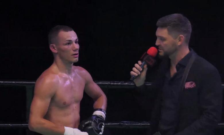боксер з Червонограда Сергій Гук