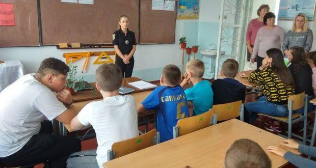 уроки з поліцейськими у Сокалі