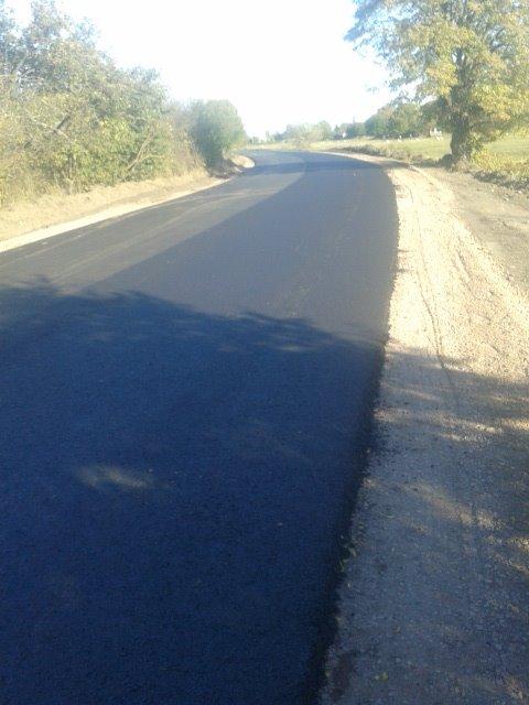 ремонт дороги в Стенятині