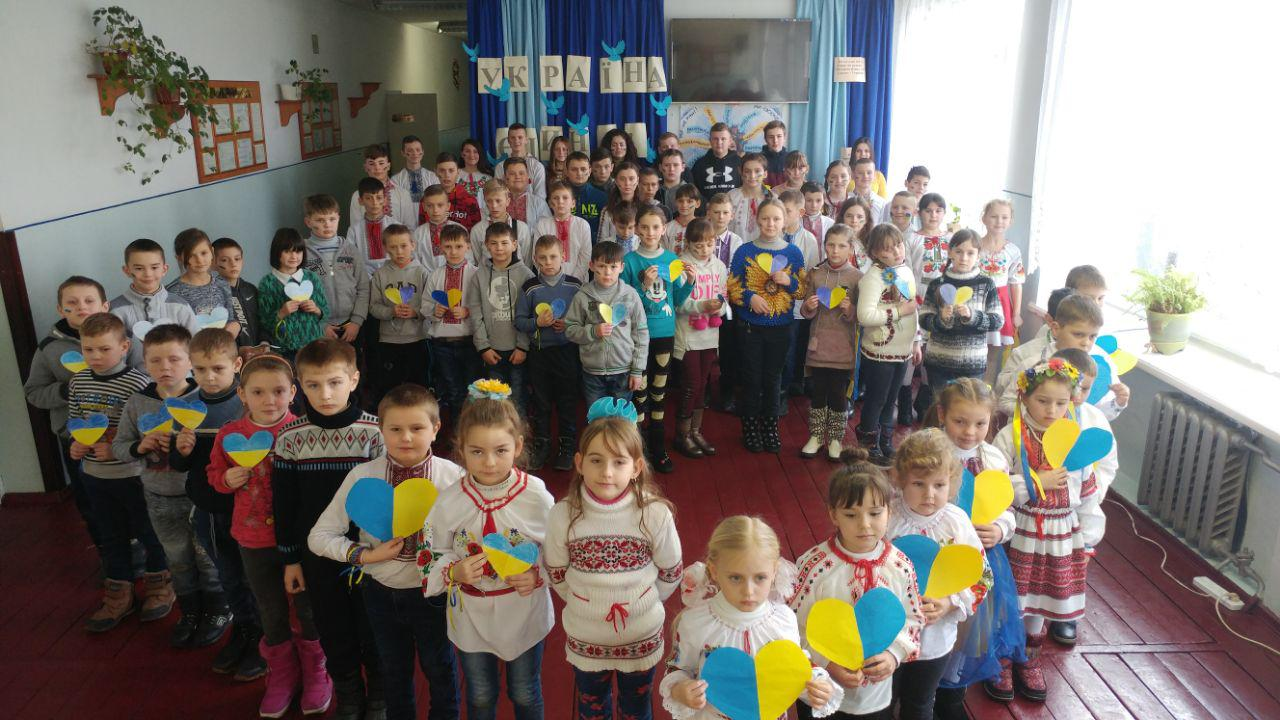 учні стаївської школи